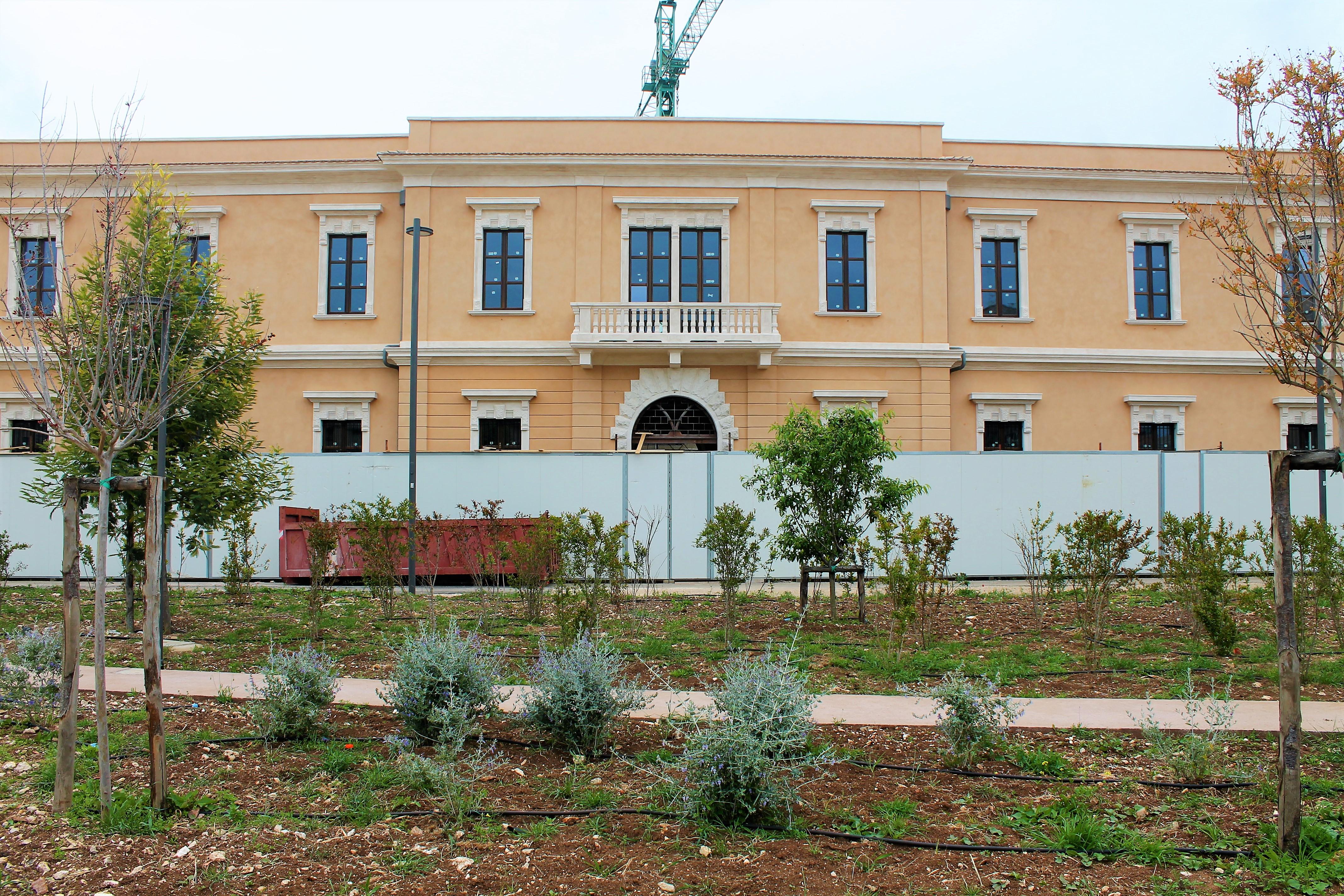 Ex Caserma Rossani: il Parco sostenibile